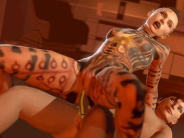 1371610 - Commander_Shepard FemShep Jack Mass_Effect Mass_Effect_3 animated cygnus source_filmmaker.gif