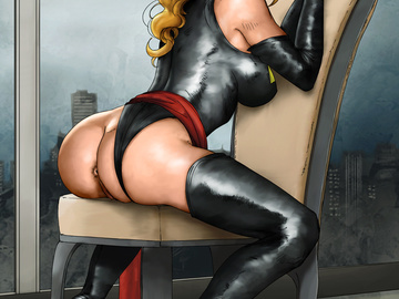 Marvel Black Cat Nude