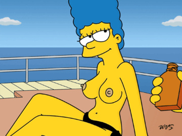 Marge Simpson 630469 - Marge_Simpson The_Simpsons WVS animated.gif