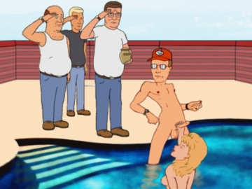 Luanne Platter Hank Hill Shosei Sakaguchi 1305281 - Bill_Dauterive Boomhauer Dale_Gribble Guido_L Hank_Hill King_of_the_Hill Luanne_Platter animated.gif
