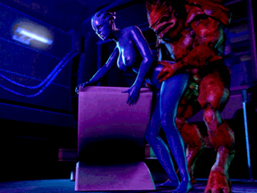 1519876 - Asari Mass_Effect Wrex animated cootcontor krogan source_filmmaker.gif