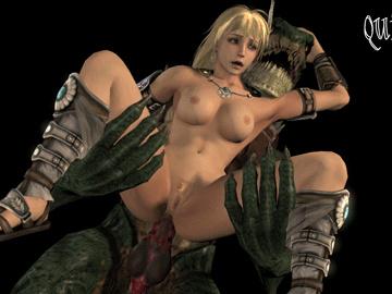 1512303 - Lizardman Quick_E Sophitia_Alexandra Soul_Calibur animated source_filmmaker.gif