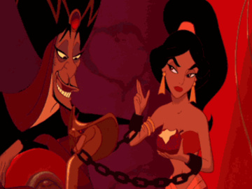 422522 - AdamantP Aladdin Jafar Jasmine animated.gif