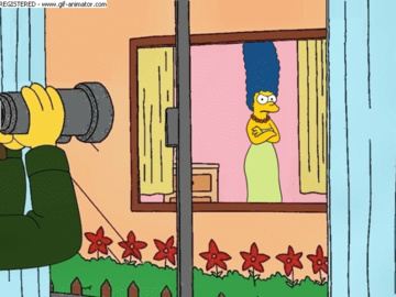 Marge Simpson Ned Flanders 1050689 - HomerJySimpson Marge_Simpson Ned_Flanders The_Simpsons animated.gif