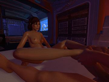1162531 - Commander_Shepard FemShep JackTheMan Kaidan_Alenko Mass_Effect animated.gif
