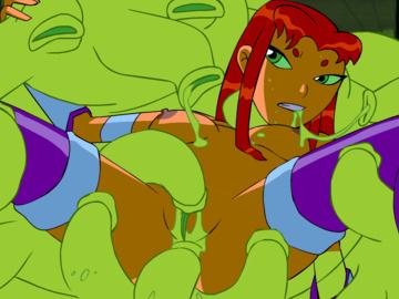 Starfire Kole 1669852 - DC DCAU Glgrdsklechhh Starfire Teen_Titans Zone animated edit.gif