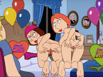 Meg Griffin Lois Griffin Diane Simmons Chris Griffin Stewie Griffin 1727804 - Chris_Griffin Family_Guy Guido_L Lois_Griffin Meg_Griffin Stolen Tenzen animated.gif