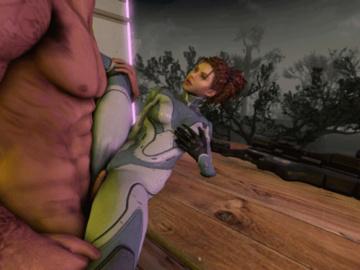 1136578 - Francis Left_4_Dead Sarah_Kerrigan StarCraft animated crossover source_filmmaker.gif