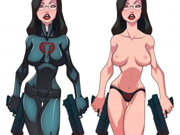 G.i.joe Girls With Massive Naked Boobs Cartoons Pictures