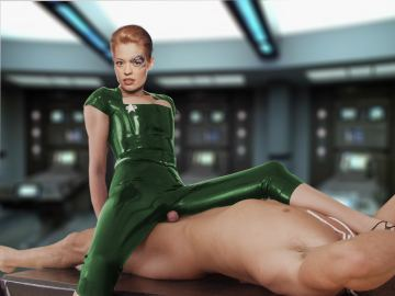 Sexy Star Trek Women Nude