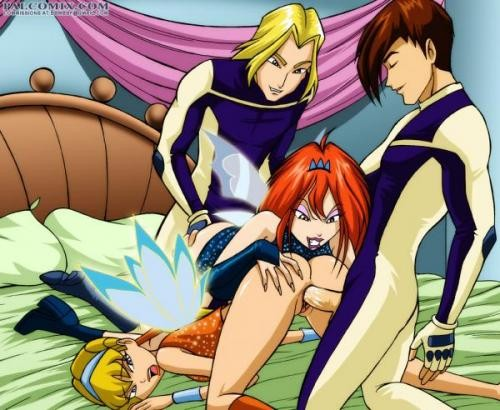 WinX Club Cartoon Sex