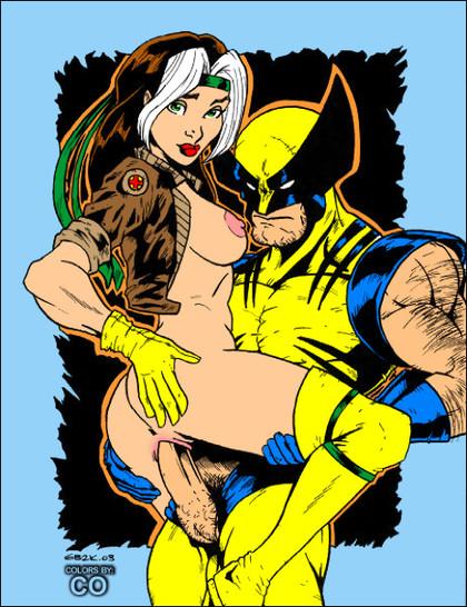 Animated X-men Porn