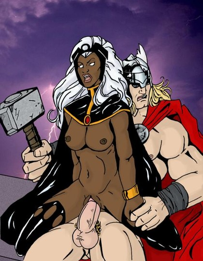 X-Men Cartoon Sex
