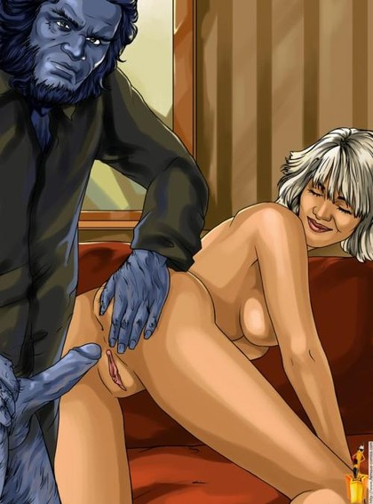 X-Men Cartoon Sex