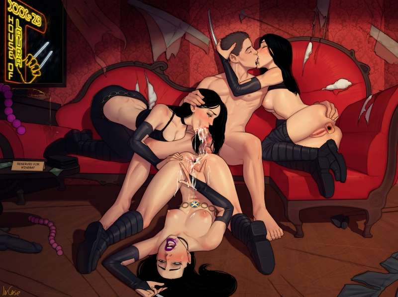 X-23 loves being cloned - it always means great orgy!
