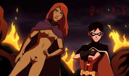 Young Justice Cartoon Sex