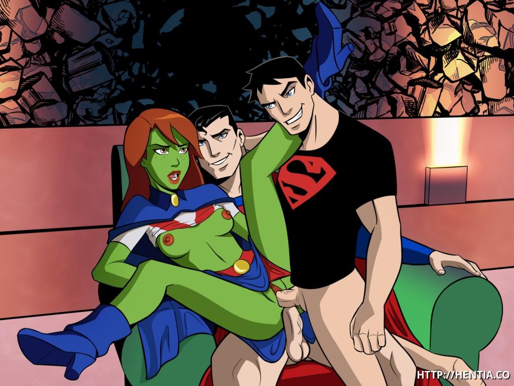 Секс Юнной Лиги Справедливости