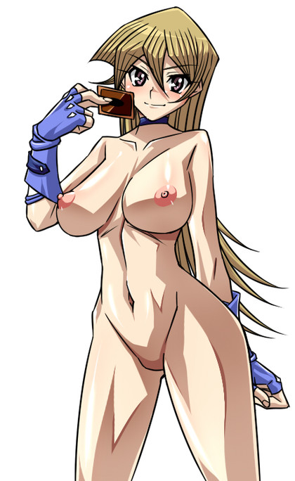 "Alexis from ""Yu Gi Oh"" is extremly hot in these gloves!"